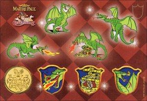 draak stickers