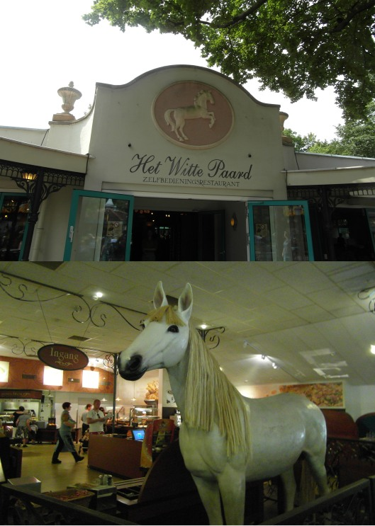 A White Horse, of course!